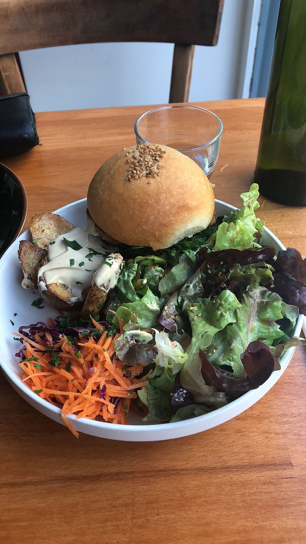 """Photo of Primeur Cantine  by <a href=""""/members/profile/Ashleyhenry"""">Ashleyhenry</a> <br/>Beetroot burger <br/> November 19, 2017  - <a href='/contact/abuse/image/81418/327018'>Report</a>"""
