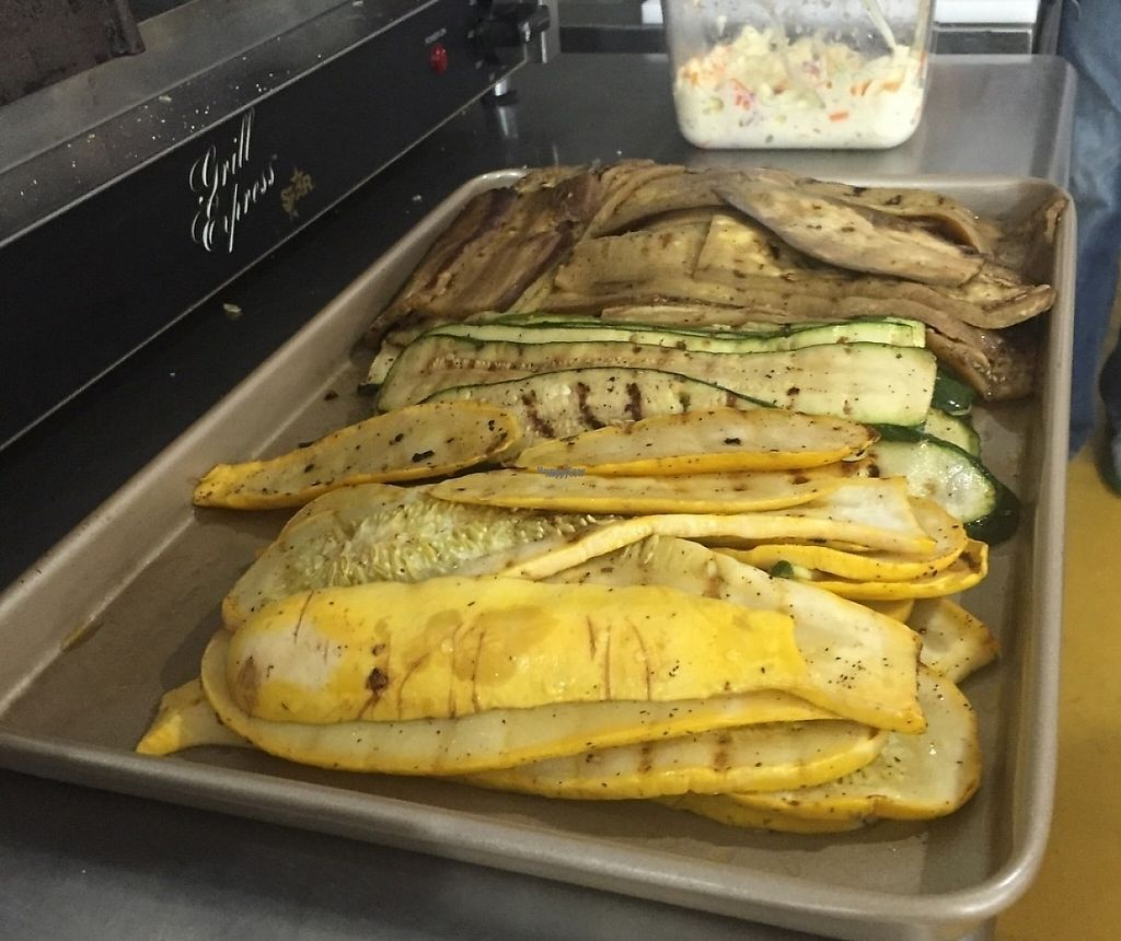 """Photo of Rosa Farms  by <a href=""""/members/profile/AndrewBachman"""">AndrewBachman</a> <br/>Had a Green Monster sandwich w hummus instead of cheese. It was amazing, grilled veggies, arugula, and house balsamic <br/> October 15, 2016  - <a href='/contact/abuse/image/81428/202228'>Report</a>"""