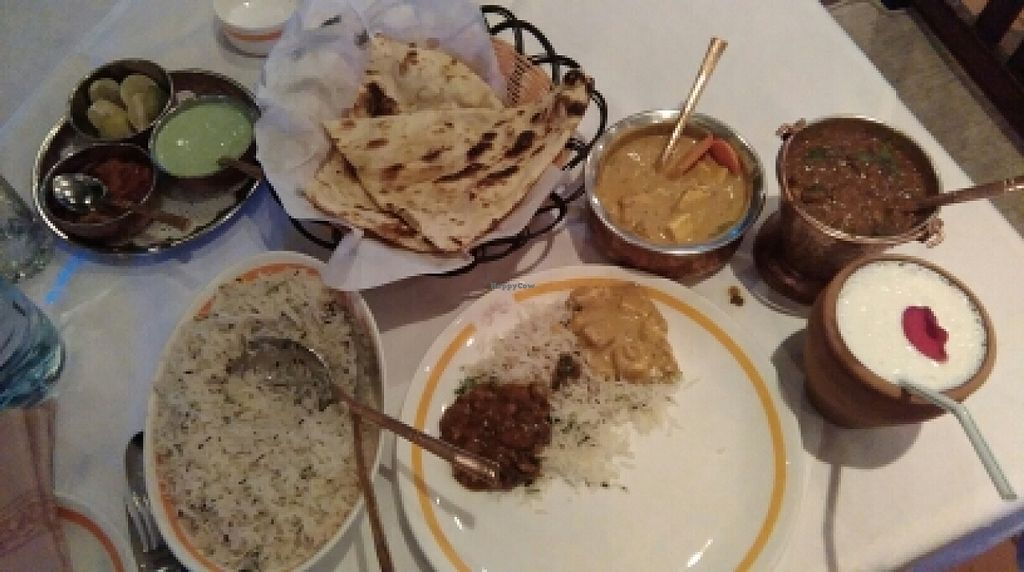 """Photo of Govinda's  by <a href=""""/members/profile/brendancullen"""">brendancullen</a> <br/>pander curry, Dal, Lasso, Rice <br/> May 4, 2016  - <a href='/contact/abuse/image/8144/147398'>Report</a>"""