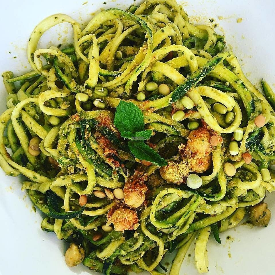 """Photo of Raw South Juice Co.  by <a href=""""/members/profile/Yajna"""">Yajna</a> <br/>spinach pesto  <br/> October 29, 2016  - <a href='/contact/abuse/image/81455/185054'>Report</a>"""