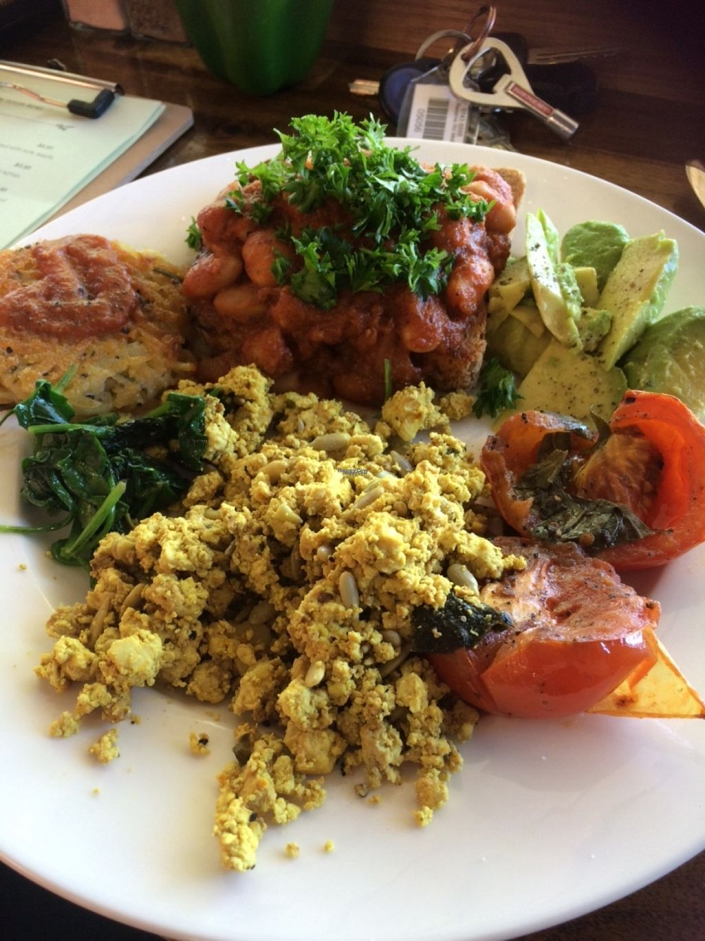 "Photo of CLOSED: Peace Love Vegan Cafe  by <a href=""/members/profile/Brinielou"">Brinielou</a> <br/>Big breakfast <br/> October 30, 2016  - <a href='/contact/abuse/image/81466/185871'>Report</a>"