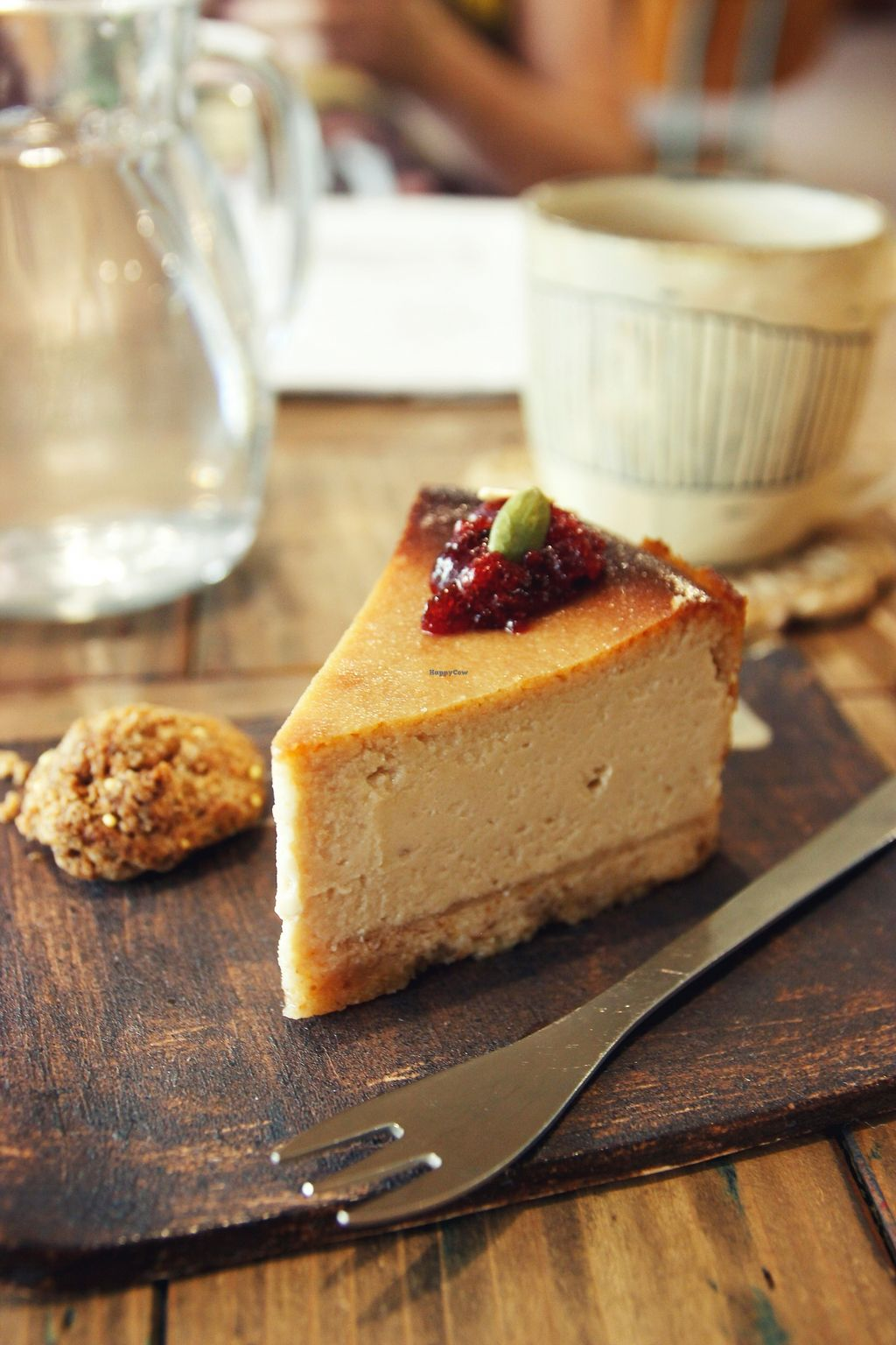 "Photo of Mana  by <a href=""/members/profile/YukiLim"">YukiLim</a> <br/>Vegan cheese cake <br/> July 16, 2017  - <a href='/contact/abuse/image/81469/280895'>Report</a>"