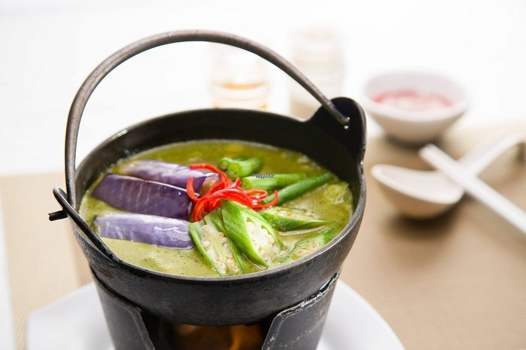 """Photo of CLOSED: Nature Cafe  by <a href=""""/members/profile/JimmySeah"""">JimmySeah</a> <br/>Green Curry Vegetables <br/> October 16, 2016  - <a href='/contact/abuse/image/81484/182315'>Report</a>"""