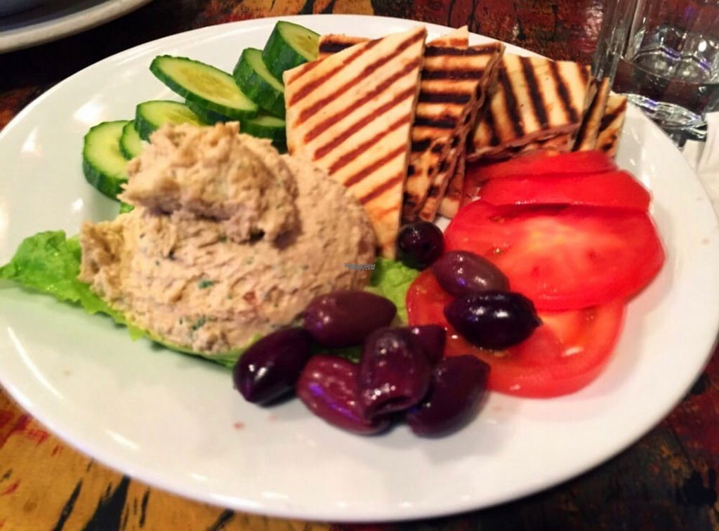 "Photo of Aqus Cafe  by <a href=""/members/profile/Forman"">Forman</a> <br/>hummus plate  <br/> October 27, 2016  - <a href='/contact/abuse/image/81498/184610'>Report</a>"