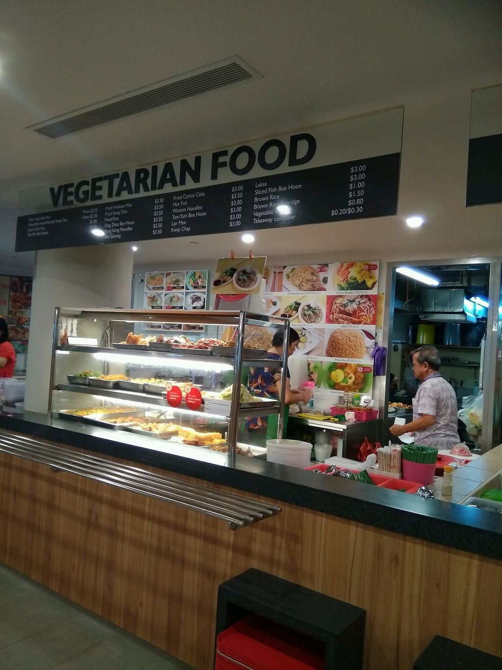 """Photo of Environment Building - Vegetarian Food  by <a href=""""/members/profile/AdelOng"""">AdelOng</a> <br/>Stall front view <br/> April 17, 2018  - <a href='/contact/abuse/image/81509/386965'>Report</a>"""