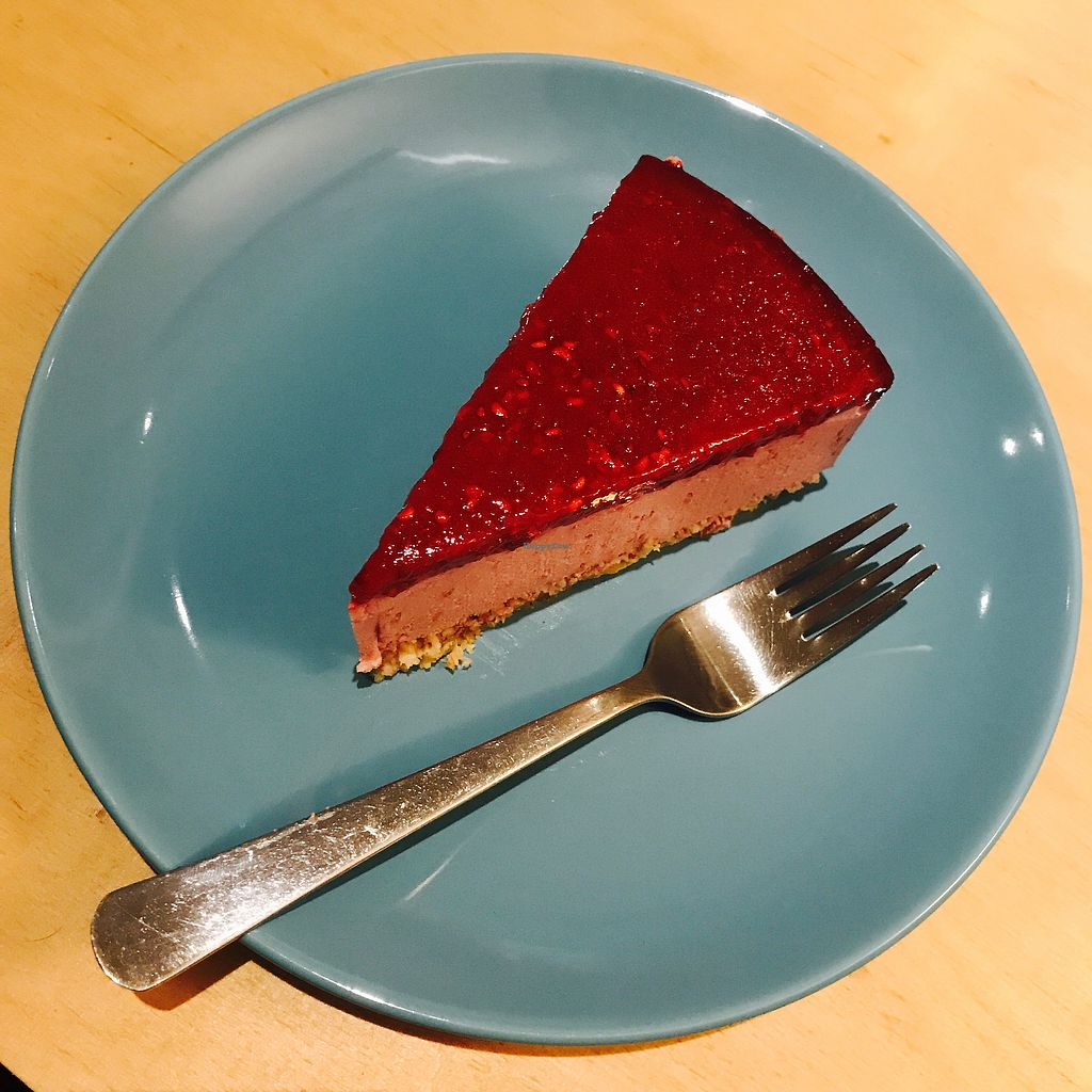 "Photo of Tlok  by <a href=""/members/profile/The%20London%20Vegan"">The London Vegan</a> <br/>raspberry tofu cheesecake!  <br/> July 26, 2017  - <a href='/contact/abuse/image/81517/284971'>Report</a>"