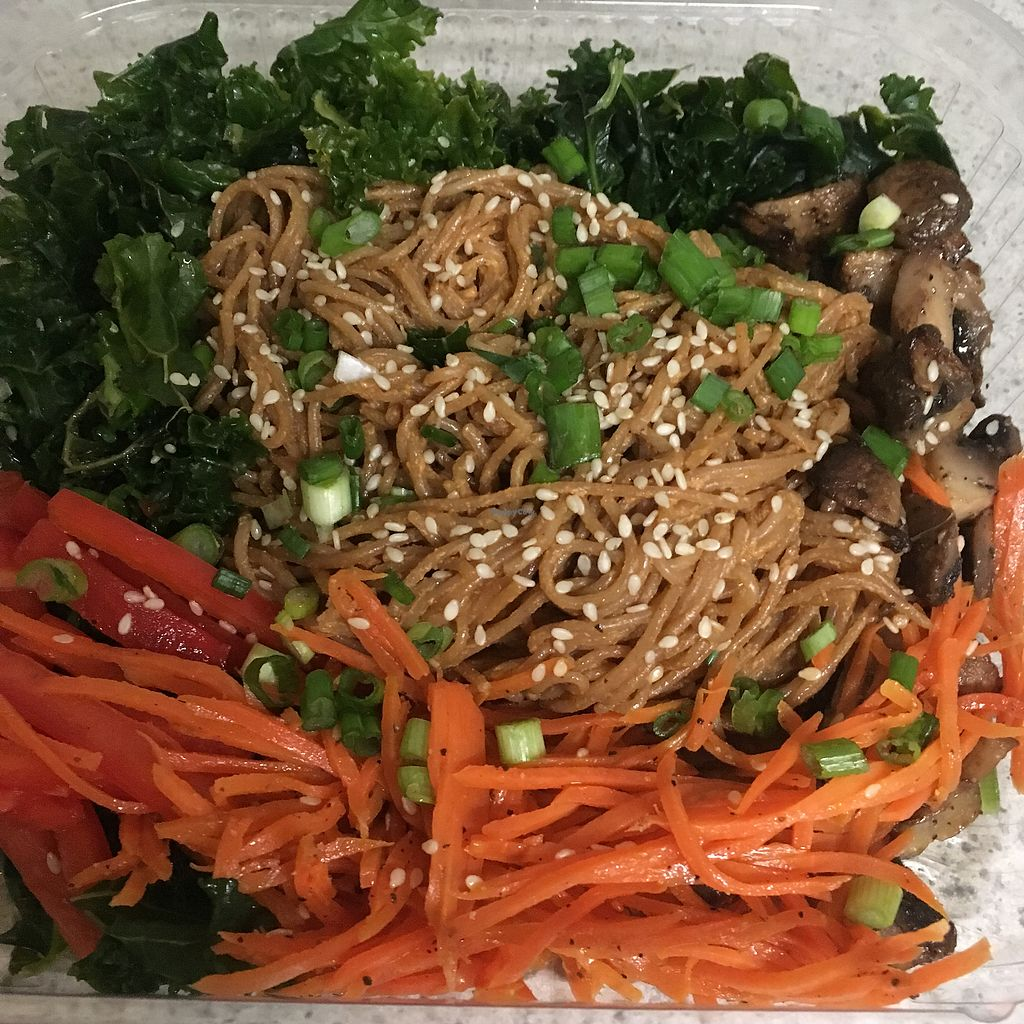 "Photo of Curia off the Drag  by <a href=""/members/profile/annwillsee"">annwillsee</a> <br/>Korean noodle salad (to-go)  <br/> January 20, 2018  - <a href='/contact/abuse/image/81532/348630'>Report</a>"