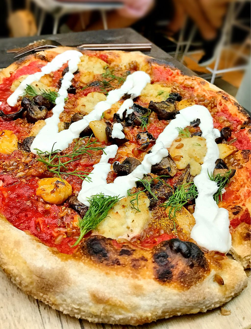 """Photo of Planta  by <a href=""""/members/profile/ElleMarie"""">ElleMarie</a> <br/>Pizzas are amazing!  <br/> February 7, 2018  - <a href='/contact/abuse/image/81537/355841'>Report</a>"""