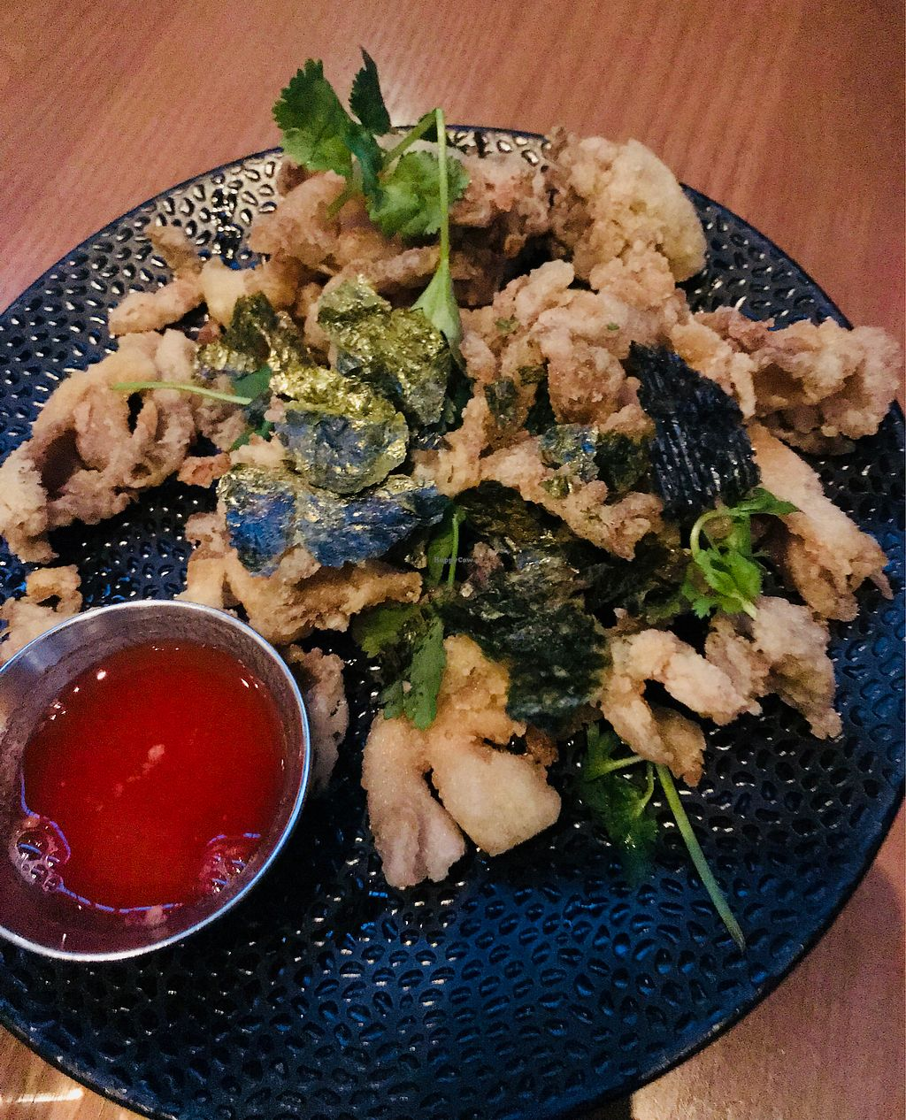 """Photo of Planta  by <a href=""""/members/profile/veggie_ween"""">veggie_ween</a> <br/>Fried mushrooms <br/> April 8, 2018  - <a href='/contact/abuse/image/81537/382592'>Report</a>"""