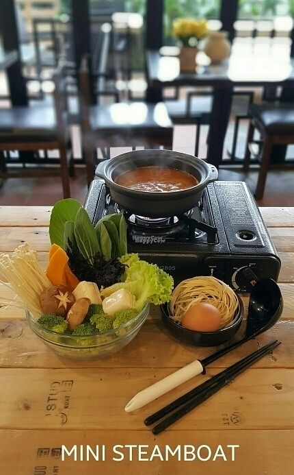 """Photo of Art Nature Cafe  by <a href=""""/members/profile/artnaturecafe"""">artnaturecafe</a> <br/>Mini steamboat (Tomyam / Plain soup) <br/> October 22, 2016  - <a href='/contact/abuse/image/81542/183696'>Report</a>"""