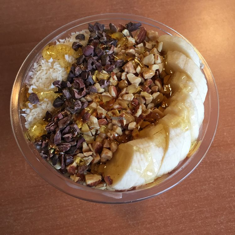 """Photo of Krava Bowl  by <a href=""""/members/profile/Eefie"""">Eefie</a> <br/>acai bowl with peanutbutter!!!!! <br/> October 18, 2016  - <a href='/contact/abuse/image/81548/182730'>Report</a>"""