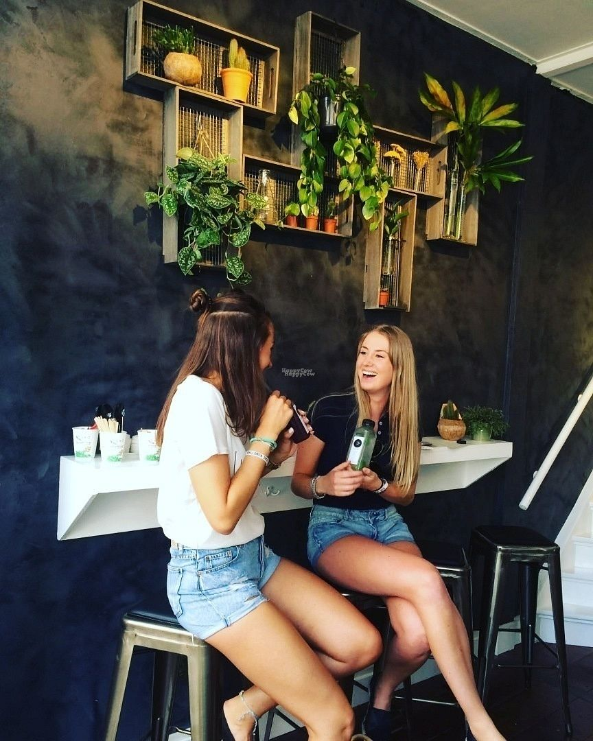 """Photo of Saplab Slowjuice  by <a href=""""/members/profile/CMJ"""">CMJ</a> <br/>Take away or take and stay! Feel free to enjoy your slowjuice, smoothie, Acai bowl or coffee at our little bar.  <br/> October 18, 2016  - <a href='/contact/abuse/image/81559/182770'>Report</a>"""