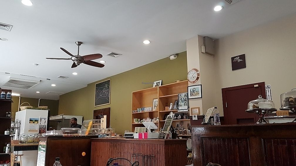 """Photo of Subia's Organic Cafe and Market  by <a href=""""/members/profile/NipaJoyBetge"""">NipaJoyBetge</a> <br/>entrance counter <br/> June 7, 2017  - <a href='/contact/abuse/image/8160/266788'>Report</a>"""