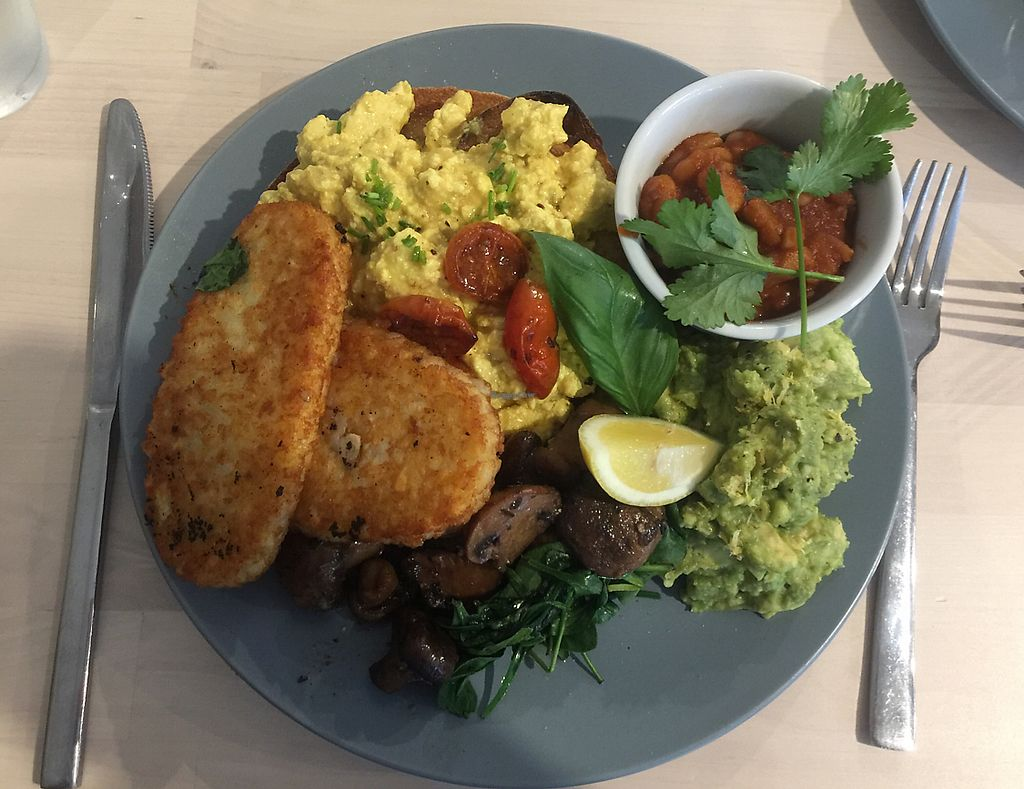 "Photo of Wombat Cafe & Store  by <a href=""/members/profile/GabriellaRuby"">GabriellaRuby</a> <br/>big breakfast plus avo. The scrambled Tofu was divine!! <br/> June 25, 2017  - <a href='/contact/abuse/image/81695/273236'>Report</a>"
