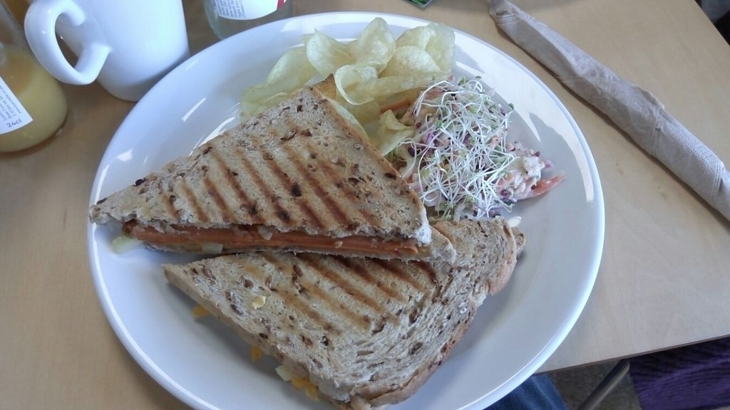 """Photo of Rabbit Vegan Cafe  by <a href=""""/members/profile/VeganWitchery"""">VeganWitchery</a> <br/>Hawaiian Toastie <br/> October 23, 2016  - <a href='/contact/abuse/image/81698/183873'>Report</a>"""