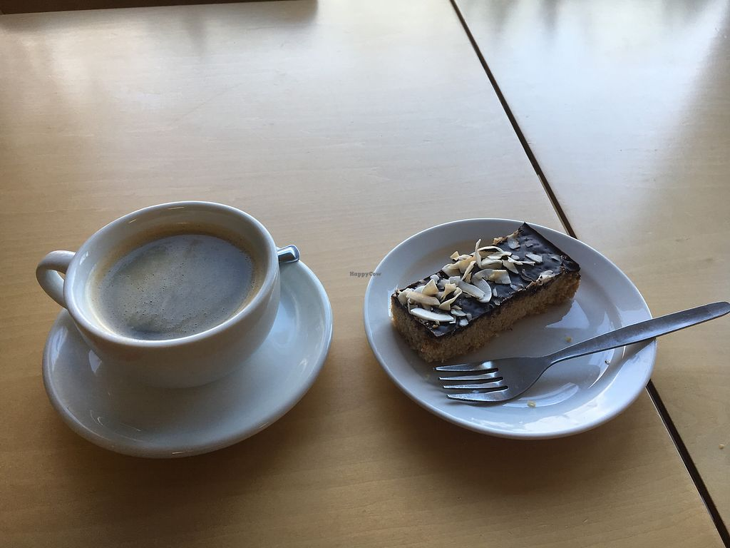 """Photo of Rabbit Vegan Cafe  by <a href=""""/members/profile/GillGray"""">GillGray</a> <br/>Very good coffee and cake <br/> January 17, 2018  - <a href='/contact/abuse/image/81698/347724'>Report</a>"""