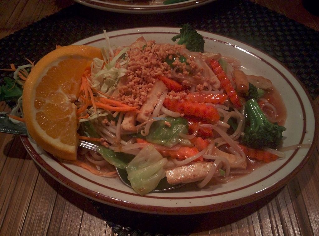 "Photo of Sopa Thai Cuisine  by <a href=""/members/profile/alexandra_vegan"">alexandra_vegan</a> <br/>Vegan Pad Thai with Veggies  (no oyster sauce on request) <br/> December 21, 2016  - <a href='/contact/abuse/image/81721/203896'>Report</a>"