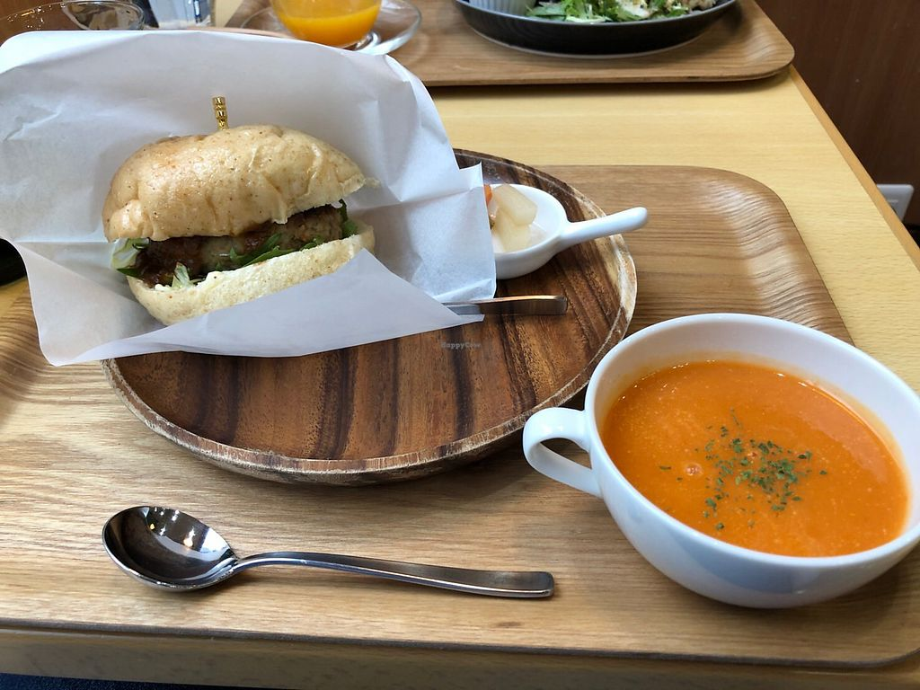 "Photo of Rota Cafe  by <a href=""/members/profile/Peg-LamMa"">Peg-LamMa</a> <br/>Tofu Burger set lunch <br/> January 8, 2018  - <a href='/contact/abuse/image/81731/344239'>Report</a>"