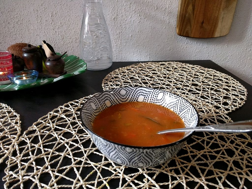 """Photo of Simply Vegan  by <a href=""""/members/profile/CoconutRice"""">CoconutRice</a> <br/>GF soup <br/> January 25, 2018  - <a href='/contact/abuse/image/81763/350877'>Report</a>"""