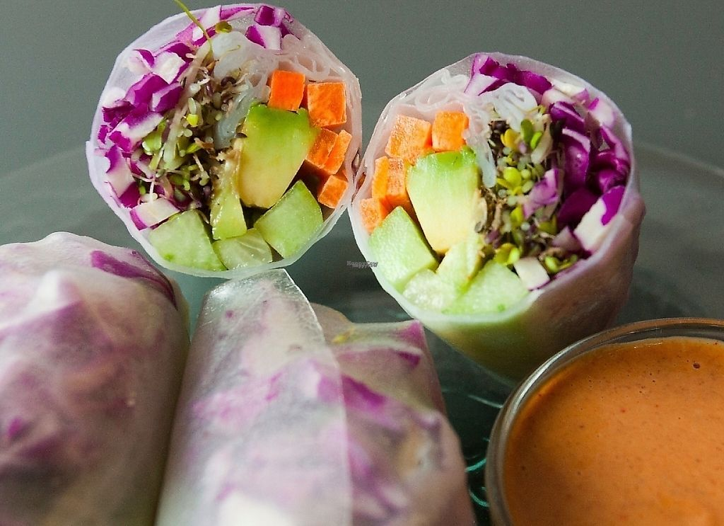 "Photo of Salted Café Sofia  by <a href=""/members/profile/JordanNenkovsky"">JordanNenkovsky</a> <br/>Rice rolls (3pc)