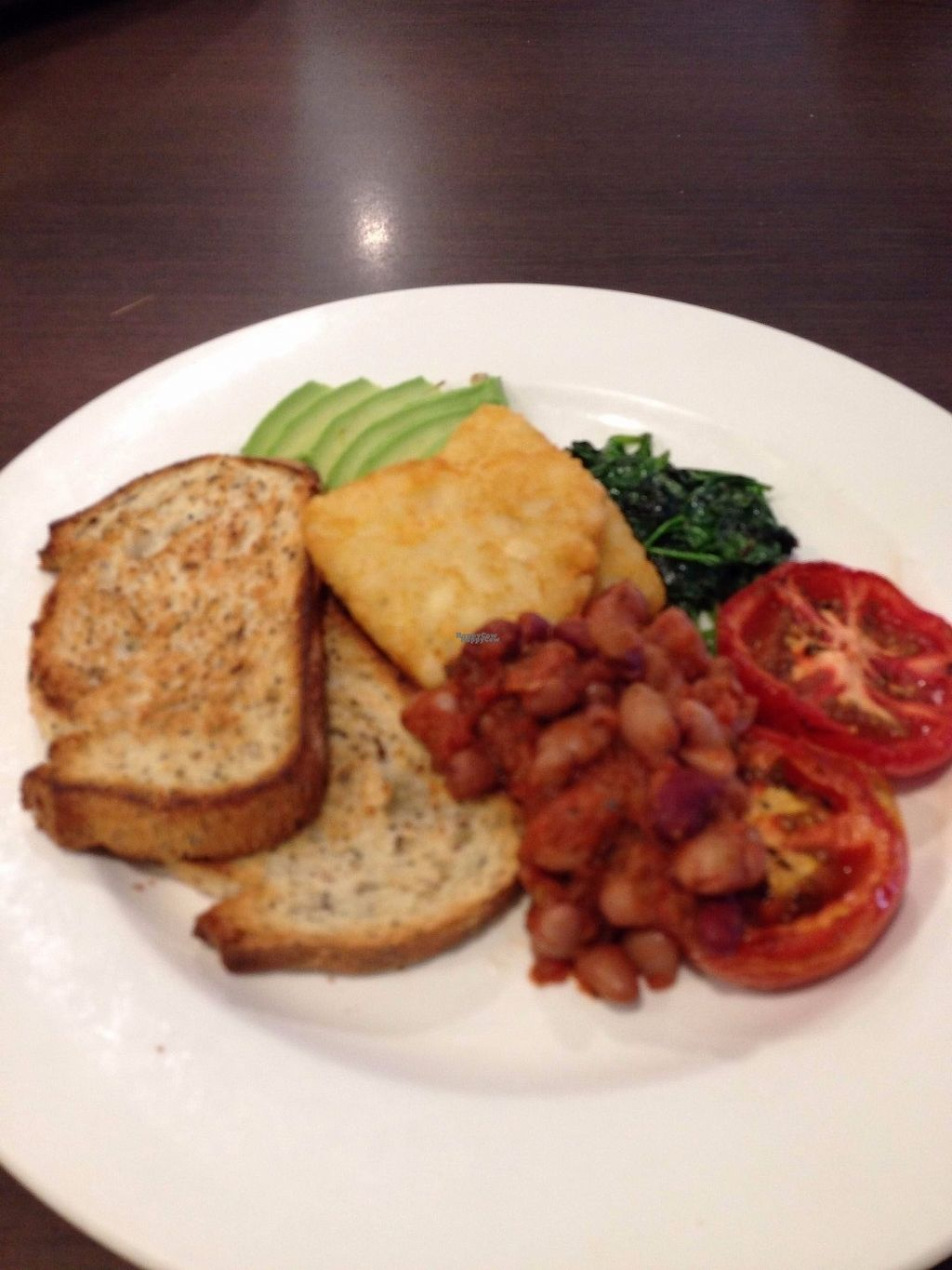 "Photo of Laneway Cafe  by <a href=""/members/profile/CatDouglas"">CatDouglas</a> <br/>The vegan breakfast <br/> October 27, 2016  - <a href='/contact/abuse/image/81788/184627'>Report</a>"