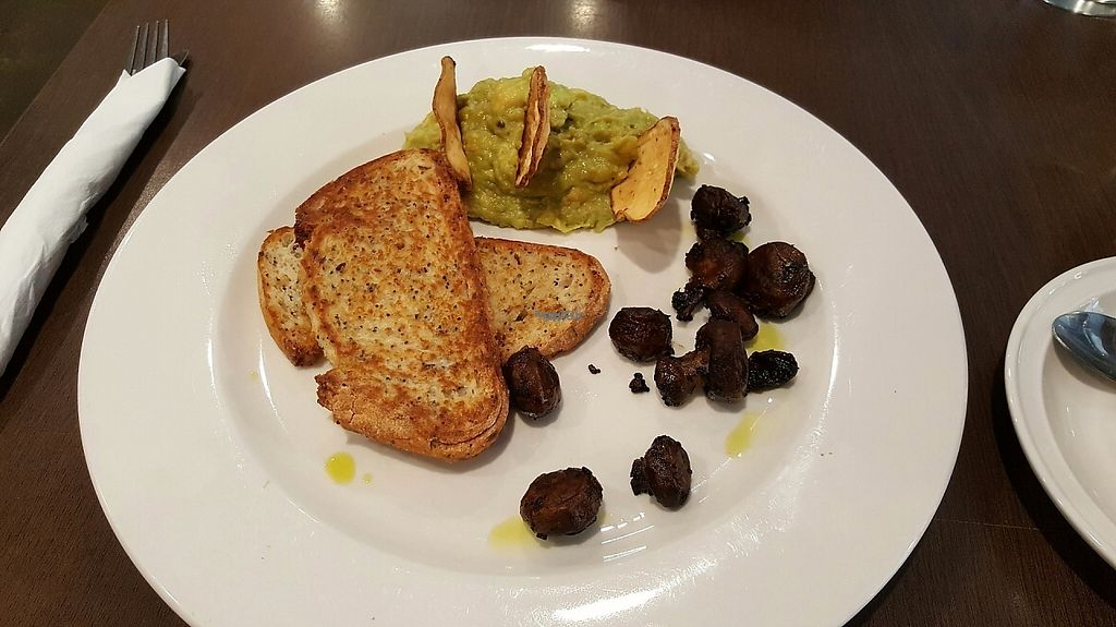 "Photo of Laneway Cafe  by <a href=""/members/profile/NachosBalestra"">NachosBalestra</a> <br/>Smashed avo & chickpeaz with miso mushrooms <br/> April 10, 2017  - <a href='/contact/abuse/image/81788/246856'>Report</a>"