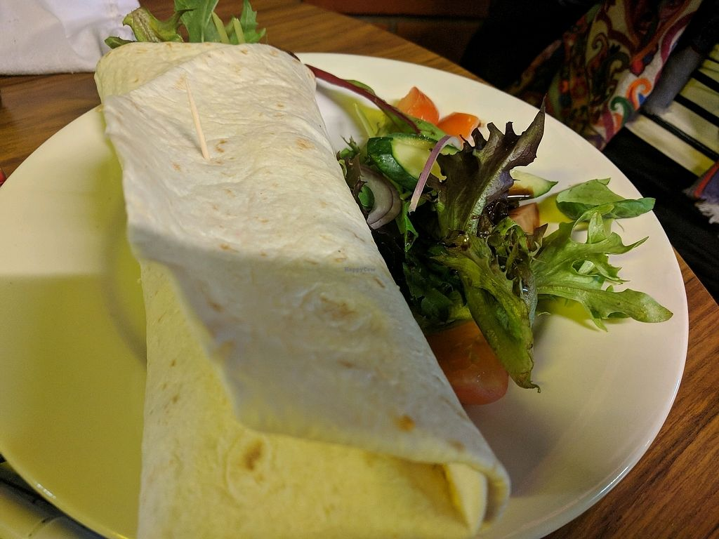 """Photo of The Brisbane Hotel  by <a href=""""/members/profile/VeganSoapDude"""">VeganSoapDude</a> <br/>Burrito <br/> February 11, 2018  - <a href='/contact/abuse/image/81791/357764'>Report</a>"""
