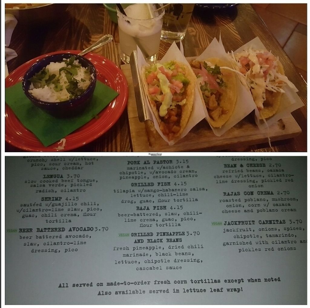 """Photo of Tacos & Beer  by <a href=""""/members/profile/AngelaGomez"""">AngelaGomez</a> <br/>Tacos ? <br/> February 4, 2017  - <a href='/contact/abuse/image/81799/222163'>Report</a>"""