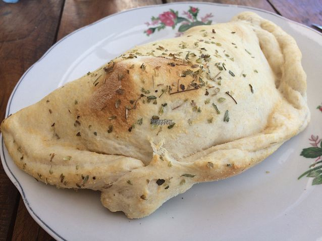 """Photo of Casa Esquina  by <a href=""""/members/profile/Siup"""">Siup</a> <br/>vegan empanada  <br/> October 24, 2016  - <a href='/contact/abuse/image/81802/184016'>Report</a>"""
