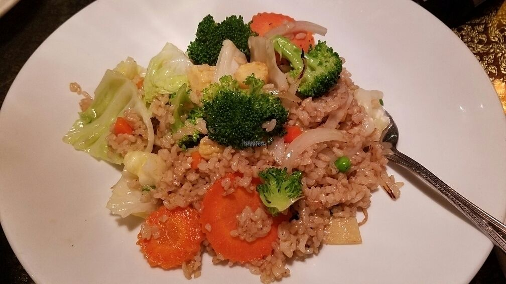 """Photo of Emporium Thai  by <a href=""""/members/profile/kenvegan"""">kenvegan</a> <br/>Thai Fried Rice Veggie <br/> October 27, 2016  - <a href='/contact/abuse/image/81807/184764'>Report</a>"""