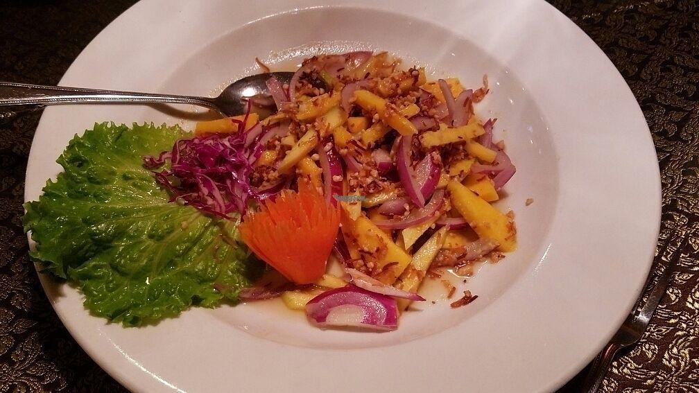 "Photo of Emporium Thai  by <a href=""/members/profile/kenvegan"">kenvegan</a> <br/>Coco Mango Salad with Crispy Tofu <br/> October 27, 2016  - <a href='/contact/abuse/image/81807/184765'>Report</a>"