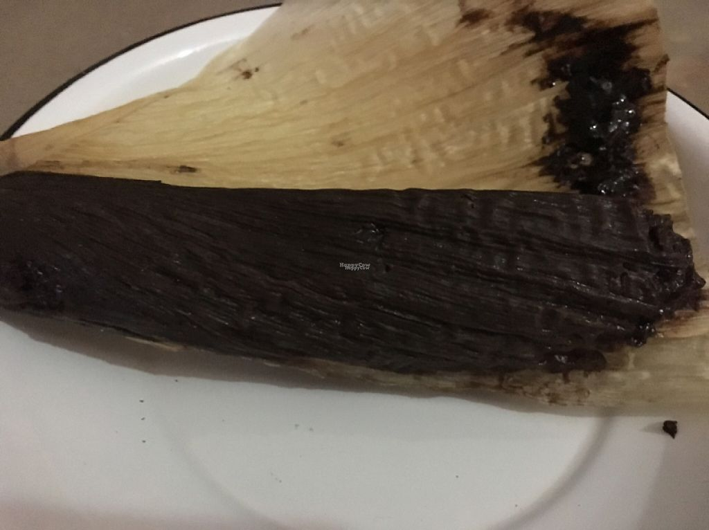 """Photo of Chia Fonda Vegana  by <a href=""""/members/profile/CHAPIS1028"""">CHAPIS1028</a> <br/>chocolate tamales! <br/> December 31, 2016  - <a href='/contact/abuse/image/81808/206565'>Report</a>"""
