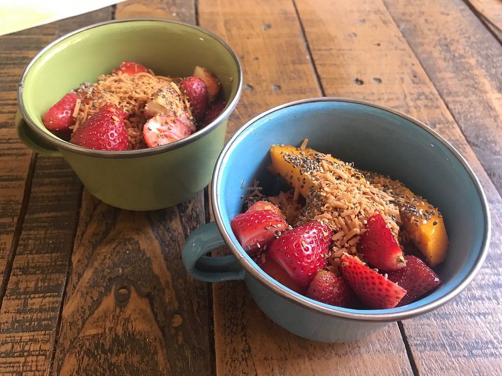 """Photo of Chia Fonda Vegana  by <a href=""""/members/profile/GaryBartlett"""">GaryBartlett</a> <br/>Fruit bowls - Delicious and fresh <br/> April 8, 2018  - <a href='/contact/abuse/image/81808/382685'>Report</a>"""