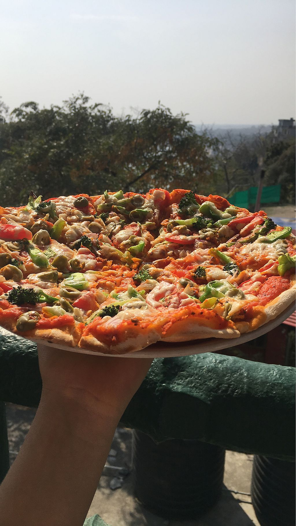 "Photo of TATTV Cafe  by <a href=""/members/profile/MariBo"">MariBo</a> <br/>Vegan pizza <br/> February 26, 2018  - <a href='/contact/abuse/image/81822/364129'>Report</a>"