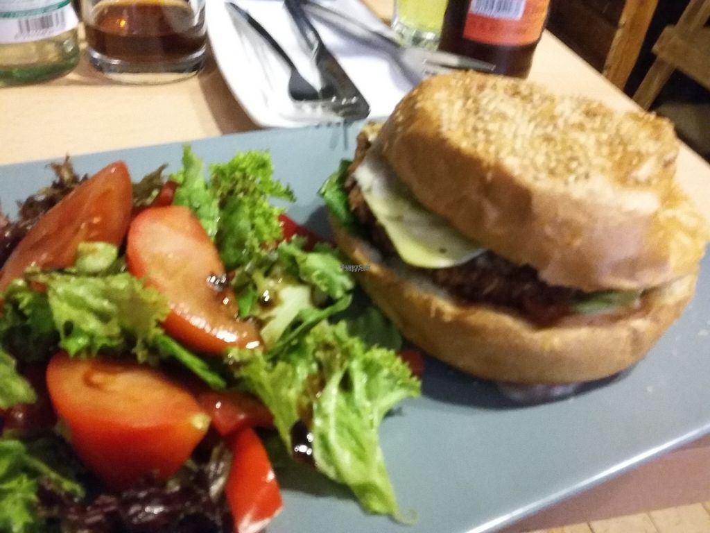 """Photo of Waipawa  by <a href=""""/members/profile/Tereza-soucitne.cz"""">Tereza-soucitne.cz</a> <br/>Amazing vegan burger with salad! <br/> October 24, 2016  - <a href='/contact/abuse/image/81824/184059'>Report</a>"""