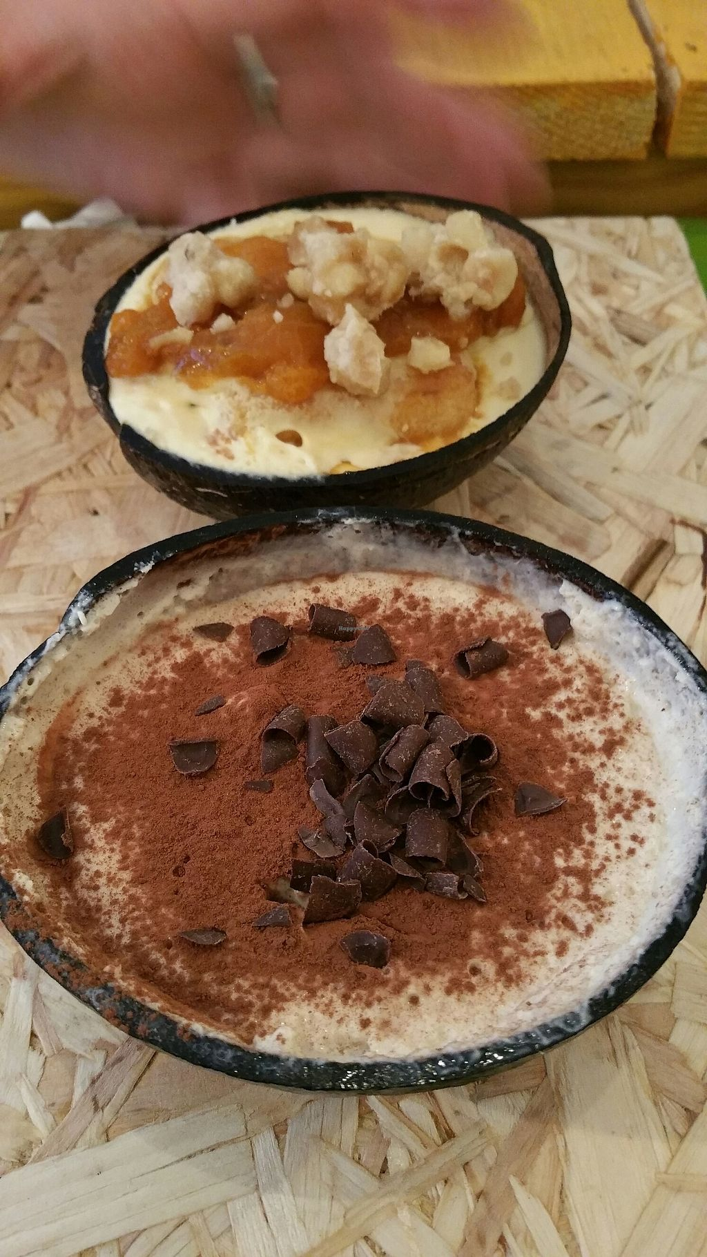 """Photo of HEARTH  by <a href=""""/members/profile/Cathy2001"""">Cathy2001</a> <br/>vegan tiramisu  <br/> August 4, 2017  - <a href='/contact/abuse/image/81827/288816'>Report</a>"""