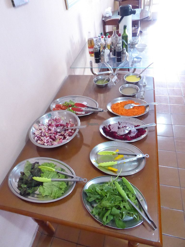 """Photo of Vegethare Restaurante Vegetariano  by <a href=""""/members/profile/jonap"""">jonap</a> <br/>Salad buffet <br/> October 22, 2016  - <a href='/contact/abuse/image/81836/183708'>Report</a>"""