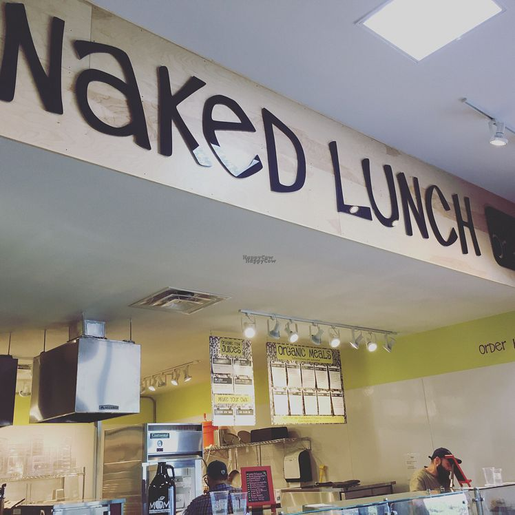 """Photo of Naked Lunch  by <a href=""""/members/profile/EatsPlants"""">EatsPlants</a> <br/>Order and dine in or take out <br/> October 22, 2016  - <a href='/contact/abuse/image/81843/183776'>Report</a>"""