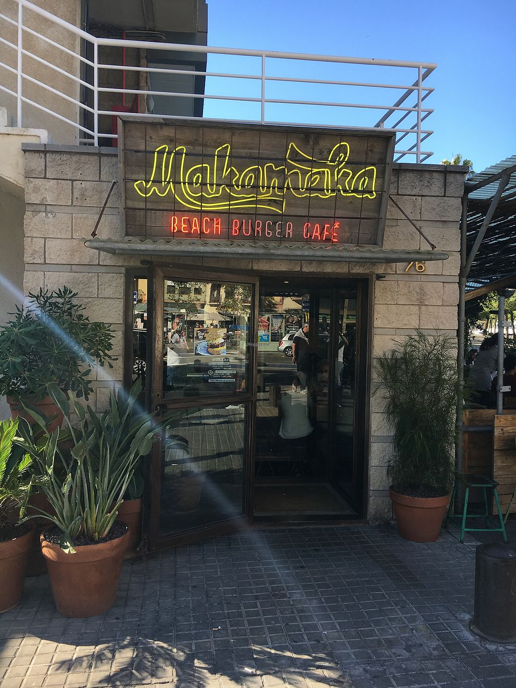 """Photo of Makamaka Beach Burger Cafe  by <a href=""""/members/profile/hack_man"""">hack_man</a> <br/>Outside  <br/> October 22, 2017  - <a href='/contact/abuse/image/81865/317714'>Report</a>"""