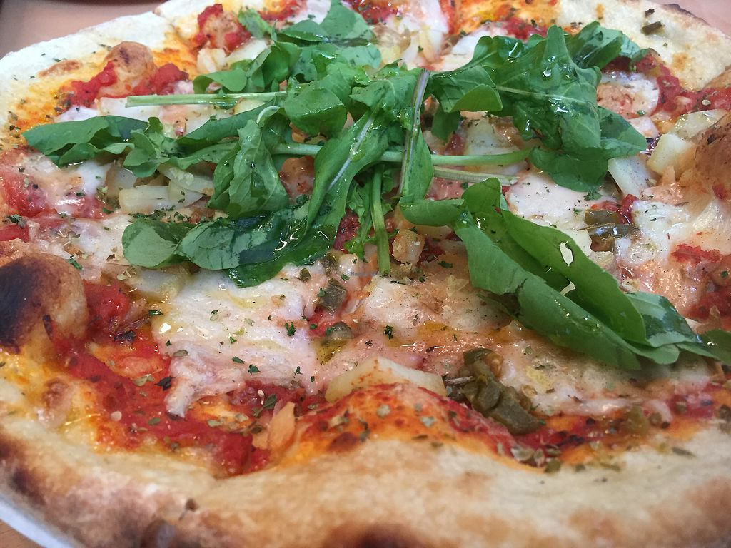 """Photo of Two Dogs Pizza House & Taproom  by <a href=""""/members/profile/SkyJumper"""">SkyJumper</a> <br/>good not great  <br/> July 26, 2017  - <a href='/contact/abuse/image/81886/285306'>Report</a>"""