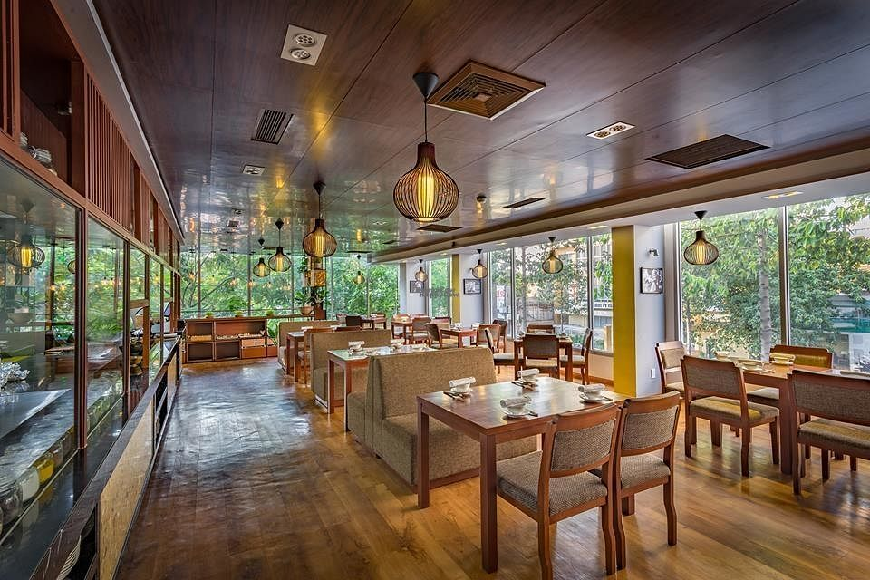 """Photo of Biogarten Restaurant  by <a href=""""/members/profile/duyentruong"""">duyentruong</a> <br/>Beautiful interior design,  <br/> October 25, 2016  - <a href='/contact/abuse/image/81896/184239'>Report</a>"""