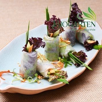 """Photo of Biogarten Restaurant  by <a href=""""/members/profile/duyentruong"""">duyentruong</a> <br/>Fresh spring rolls <br/> October 25, 2016  - <a href='/contact/abuse/image/81896/184250'>Report</a>"""