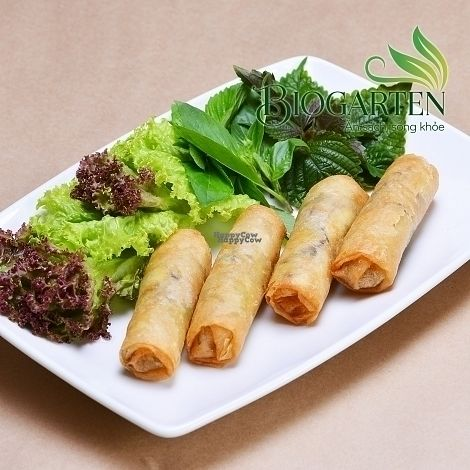 """Photo of Biogarten Restaurant  by <a href=""""/members/profile/duyentruong"""">duyentruong</a> <br/>Spring rolls <br/> October 25, 2016  - <a href='/contact/abuse/image/81896/184252'>Report</a>"""