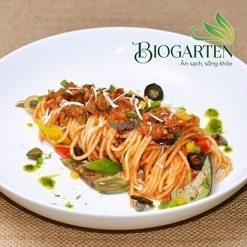 """Photo of Biogarten Restaurant  by <a href=""""/members/profile/duyentruong"""">duyentruong</a> <br/>Pasta with tomato sauce  <br/> October 25, 2016  - <a href='/contact/abuse/image/81896/184253'>Report</a>"""
