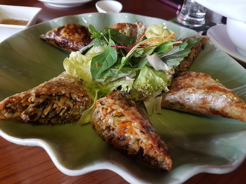 """Photo of Biogarten Restaurant  by <a href=""""/members/profile/Rosa%20veg"""">Rosa veg</a> <br/>Rolls  <br/> April 16, 2017  - <a href='/contact/abuse/image/81896/249153'>Report</a>"""