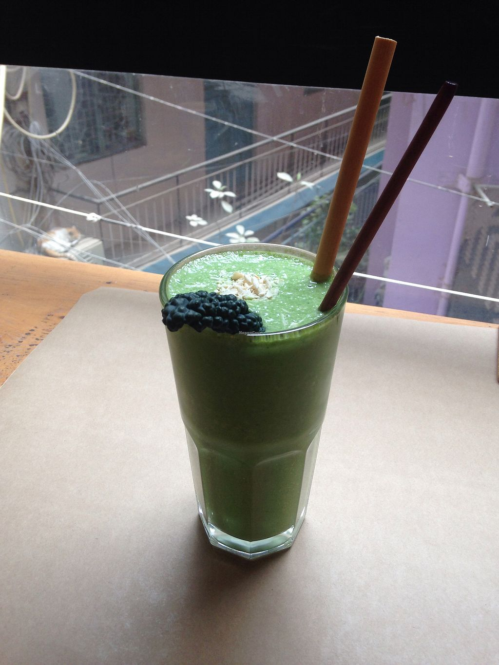 "Photo of Greenr Cafe  by <a href=""/members/profile/SophieCarolyn"">SophieCarolyn</a> <br/>Coco Loco Smoothie <br/> March 3, 2018  - <a href='/contact/abuse/image/81923/366196'>Report</a>"