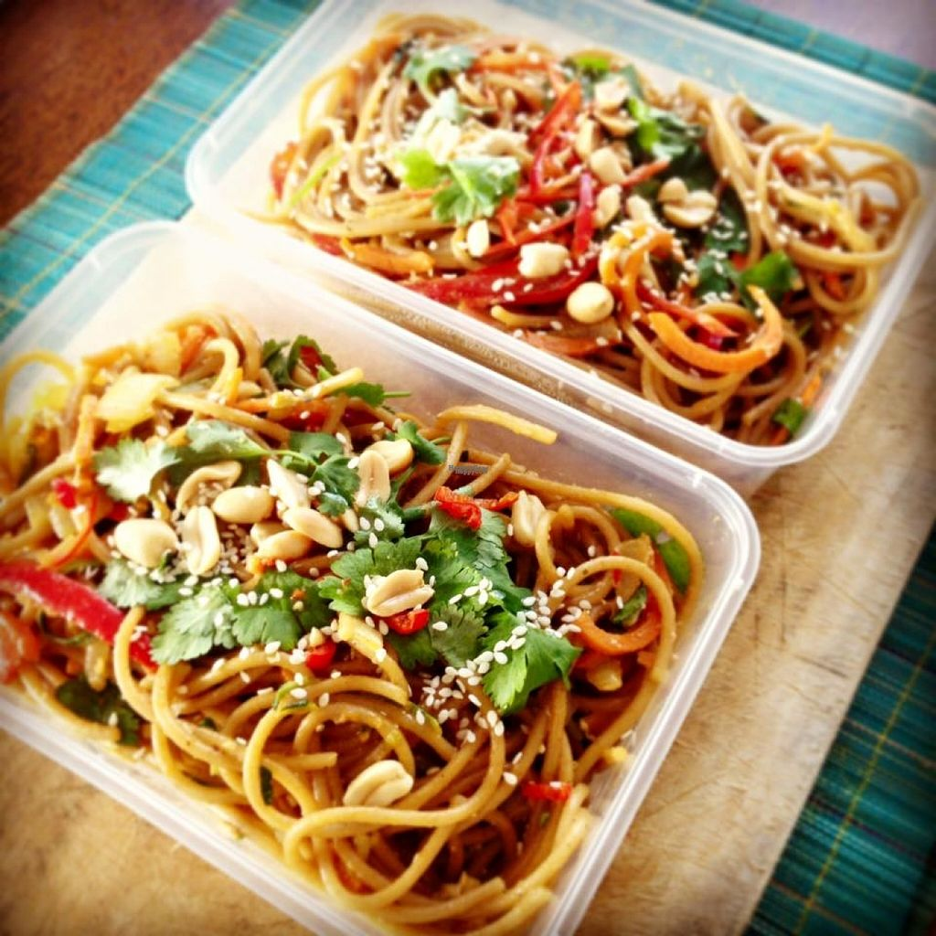 """Photo of V on Wheels  by <a href=""""/members/profile/VonWheels"""">VonWheels</a> <br/>Vegan Pad Thai <br/> October 30, 2016  - <a href='/contact/abuse/image/81943/185364'>Report</a>"""