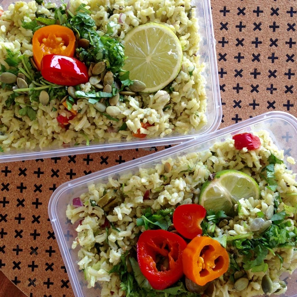 """Photo of V on Wheels  by <a href=""""/members/profile/VonWheels"""">VonWheels</a> <br/>Lime, jalapeños and cilantro brown rice. Vegan and GF <br/> October 30, 2016  - <a href='/contact/abuse/image/81943/185366'>Report</a>"""