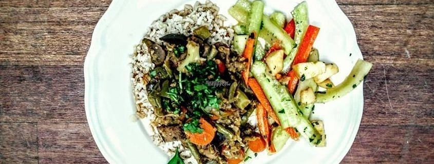 """Photo of Taste Before You Waste  by <a href=""""/members/profile/Luanana"""">Luanana</a> <br/>Food for Thought: Wonky veggie meal made from Food Surplus to create consciousness on the issue :)  <br/> October 27, 2016  - <a href='/contact/abuse/image/81949/184638'>Report</a>"""