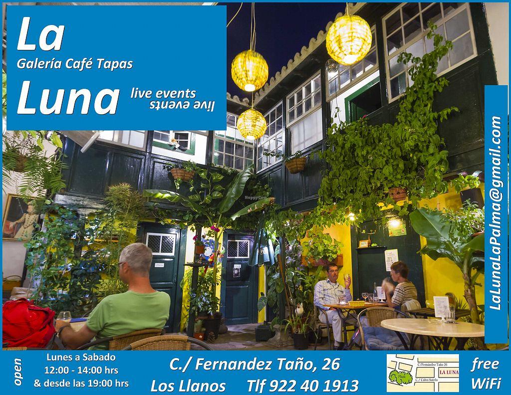 "Photo of La Luna  by <a href=""/members/profile/LaLuna"">LaLuna</a> <br/>La Luna Patio <br/> October 27, 2017  - <a href='/contact/abuse/image/82006/319344'>Report</a>"